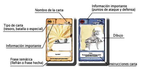 La Fallera Calavera: Cartas