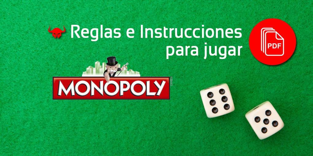 Como Jugar Al Monopoly Reglas Del Monoply