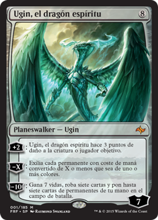 Ugin, el dragón espíritu (Ugin, the Spirit Dragon)
