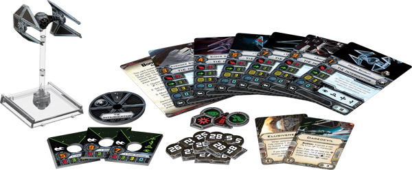 Star Wars X-Wing: Naves y fichas